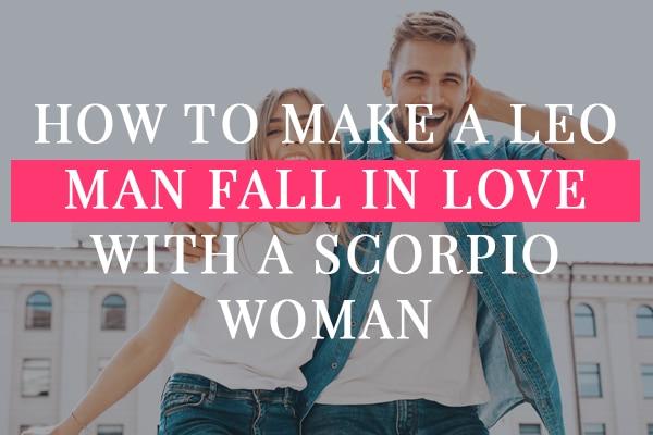 Man falling love scorpio in How Do