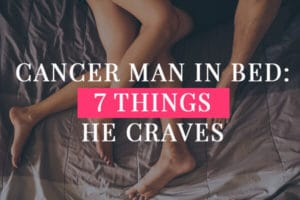 Cancer Man In Bed