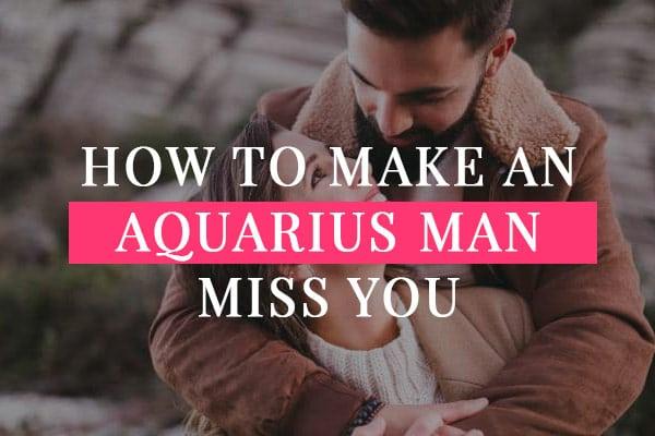 Will an aquarius man chase you